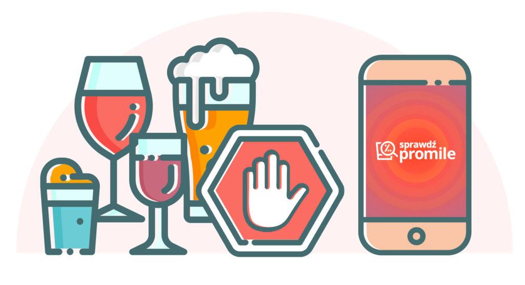Jak odmawiać alkoholu - infografika